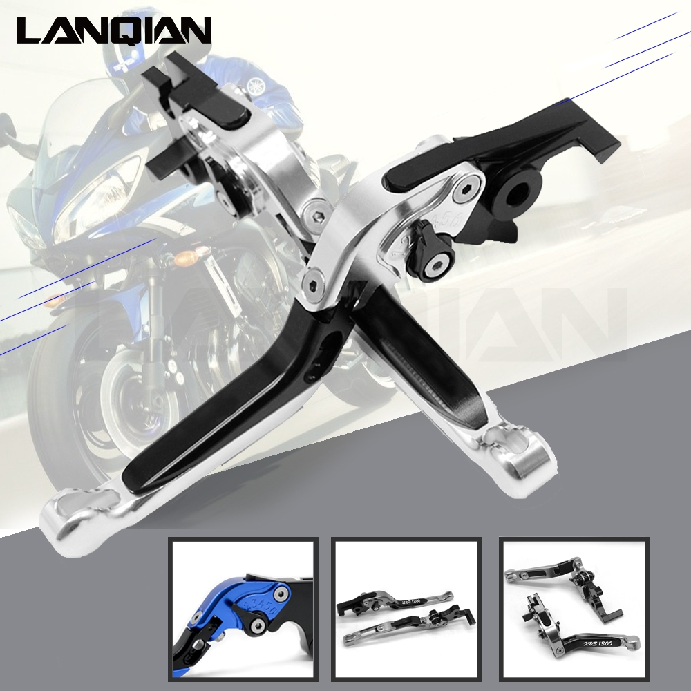 For SUZUKI GSX1400 2010-2018 CNC Motorcycle <font><b>Accessoires</b></font> Adjustable Folding Handle Lever Brake Clutch Levers With <font><b>GSX</b></font> <font><b>1400</b></font> image