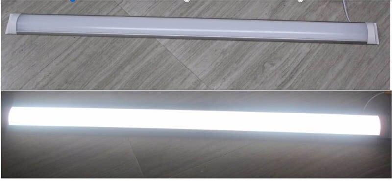 3 pièces Led Tube lumière 4ft 36 W 1200mm Led plat latte linéaire lumière Tri-preuve lampe 110 V AC85-265V lumière éclairage prix usine - 2