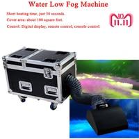 High Power Dj Equipment 3000W Water Base Fog Machine Dry Ice Effect Stage Low Ground Fog Smoke Machine Low Fog Machine For Stage