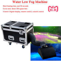 High Power Dj Equipment 3000W Water Base Fog Machine Dry Ice Effect Stage Low Ground Fog Smoke Machine Low Fog Machine For Stage