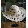 Летом Вс Шляпы Для Женщин Пляж Соломенные Шляпы Сомбреро Mujer Taiyang Женщин Chapeu женщина для