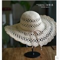 Summer Sun Hats For Women Beach Straw Hats Sombrero Mujer Taiyang  Women Chapeu Feminino