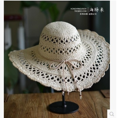 728d6e0cfbe Summer Sun Hats For Women Beach Straw Hats Sombrero Mujer Taiyang Women  Chapeu Feminino