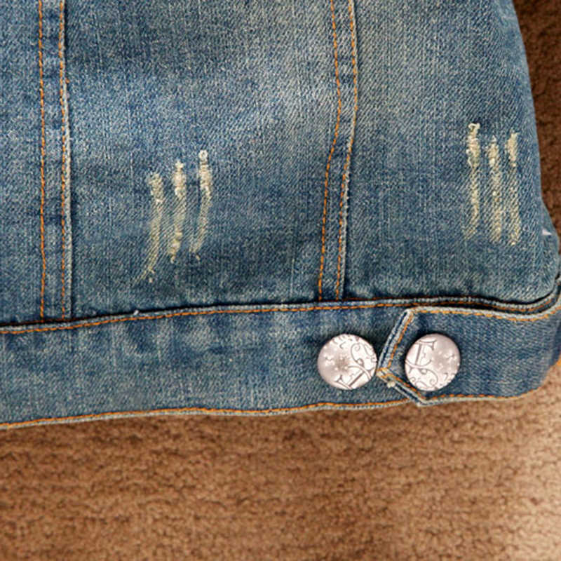 Зимняя куртка женская джинсовая куртка длинный свитер рукав повседневные узкие джинсы куртка женская зимняя флисовая куртка большой меховой воротник NQ840588