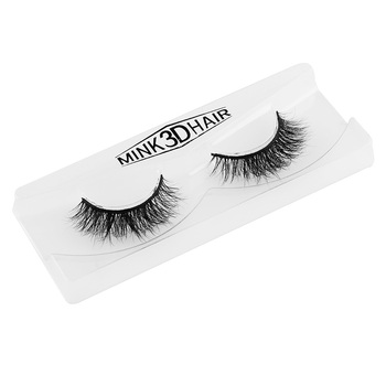 1 Pair Charming Glamour 100% Real Horse Hair Natural Black Long Thick Handmade False Eyelashes Extension Beauty Makeup False Eyelashes