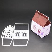 AZSG Beautiful Fairy Tale House Cutting Dies For DIY Scrapbooking Decoretive Embossing Decoative Cards Die Cutter