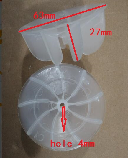 Hair dryer plastic fan blades 63mm diameter 27mm height 4mm hole 4mm hole white hair dryer fan blade h27mm diameter 62mm ind turbine barber salon common duct