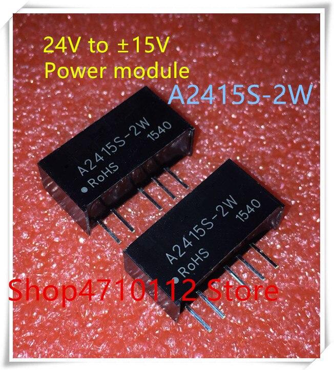 IC NEW 5PCS A2415S 2W A2415S 2W SIP 5 IC