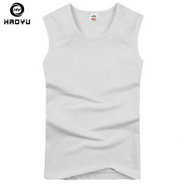 ec84dbe9cdee3f Mens Professional Muslce Gym Vest Brand Sport Tank Bodybuilding Mens Tank  Tops Cotton Singlets Plus Big Size XXL T Shirt