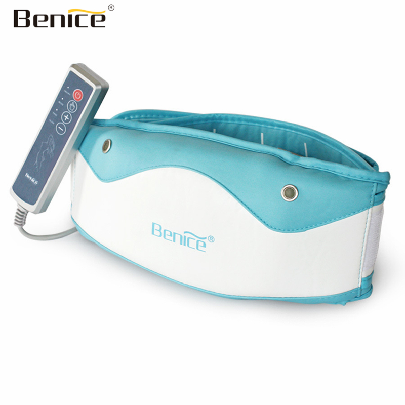 Benice Beauty Electric Vibrating Slimming Belt Body Shaper Fat Burning Massage Belt Relax Vibrating Weight Loss Losing Effective made in china vibrating weight loss machine belly fat reducing belt body shaper waist tummy slimming oval swinging movements