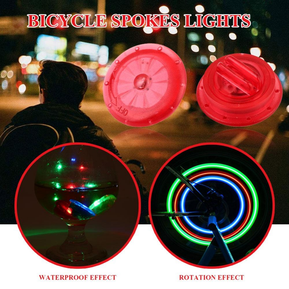 3 color Bicycle Wire Light carriage wheel lamp cycle accessories bicycle part multi color