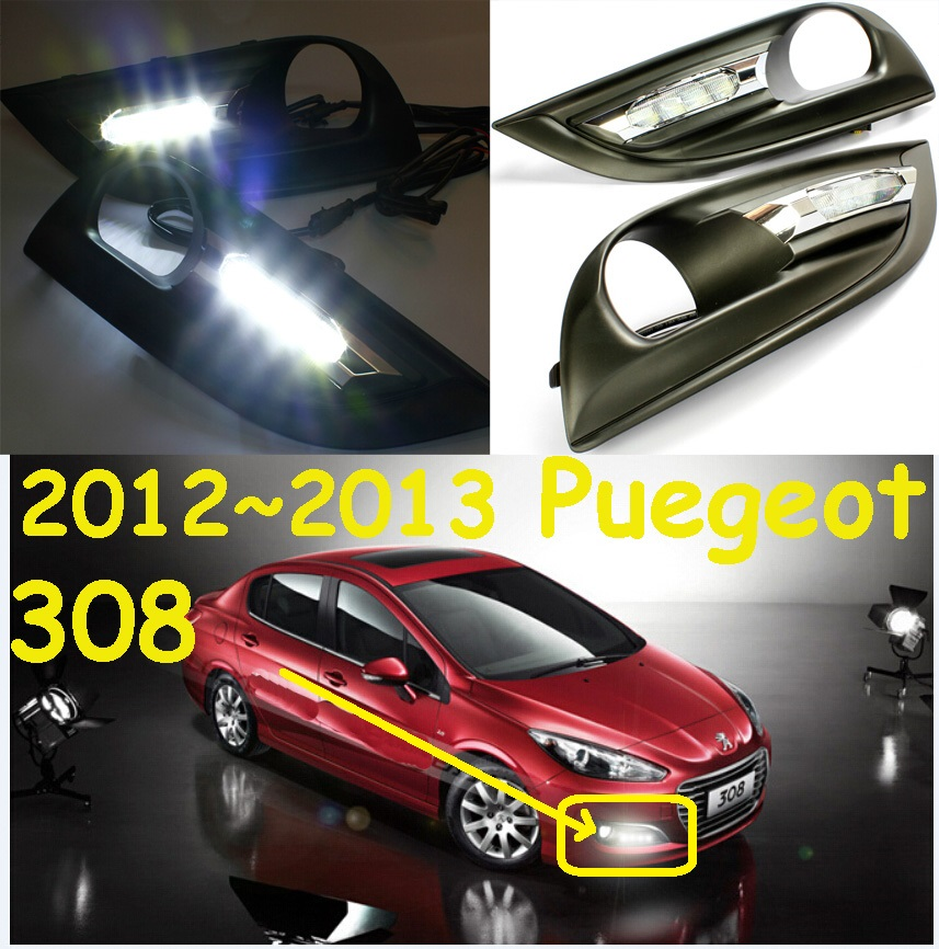 LED,2011~2015 Peugeo 308 daytime Light,Peugeo 308 fog light,Peugeo 308 headlight, 408 4008 508 Raid RCZ,Peugeo 308 Taillight