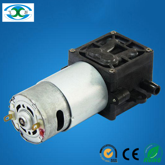 2.4L/M micro diaphragm electric dc water pump with brush motor