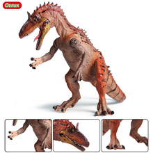 Oenux New Simulation Cryolophosaurus Dinosaur Mouth Open Dinosaurs Park World Model Action Figures Collection Toy For Kids Gift