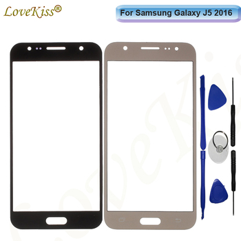 J510 Front Panel Lens For Samsung Galaxy J5 2016 J510 J510F J510G J510M Touch Screen LCD Display Outer Glass Cover Replacement image