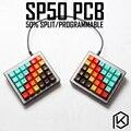 SP50 split Nach Mechanische Tastatur 50% PCB programmiert 50 preonic layouts bface firmware mit rgb boden underglow led-in Tastaturen aus Computer und Büro bei