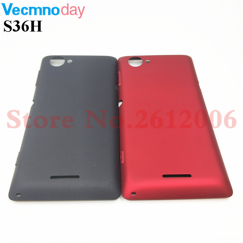 Back Battery Housing Cover Case For Sony Xperia L S36h C2104 C2105 Battery Door Cover Replacement