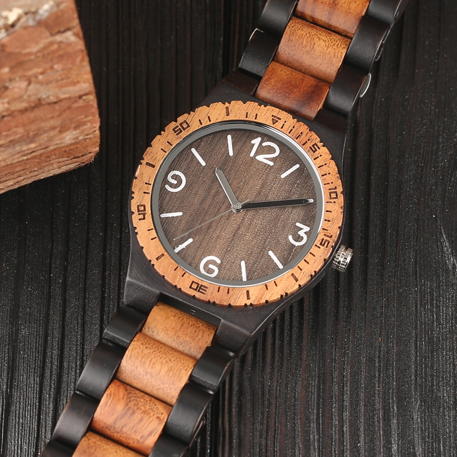 Minimalist Retro Full Wooden Watches Women Men Bamboo Wood Bracelet Fashion Creative Quartz Wristwatch Handmade Gifts Clock Hour 2018 (11)