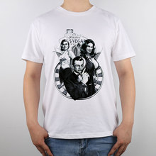james bond 007 Michael Gillette James Bond Godlfinger T shirt New Design High Quality