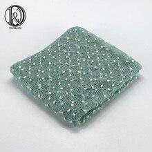 (2pcs/lot)150*100cm Knit Bobble Wraps Mini Small Ball Wraps Newborn Baby Photography Backdrops Newborn Fotografia Blanket Props