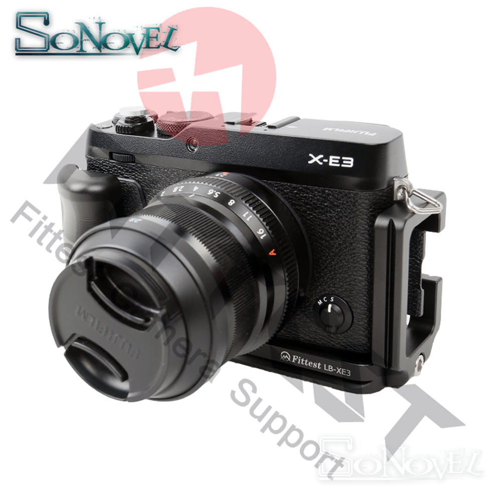 NEW FITTEST Vertical L Type Bracket Tripod Quick Release Plate Grip Handle For Fujifilm XE3 X-E3