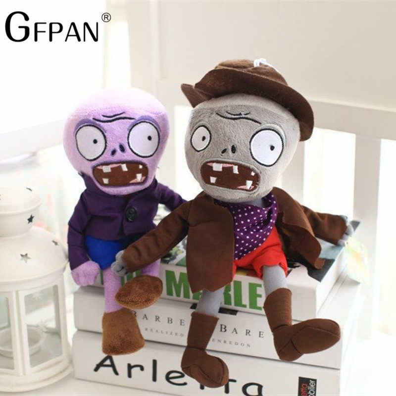 GFPAN 1PC 30cm 10 Styles Plants vs Zombies Soft Plush&Stuffed Dolls Game Figure Statue Creative Party toys for Children Baby