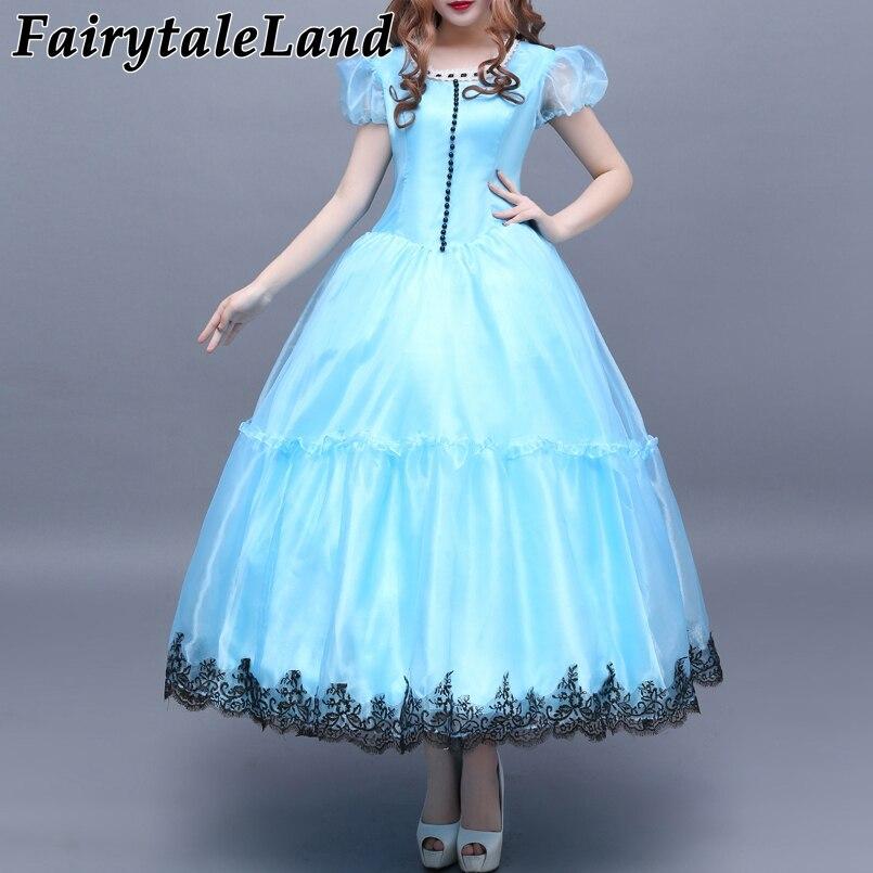 Alice In Wonderland Alice cosplay costume Halloween costumes Cosplay Alice In Wonderland costume Alice dress Custom made
