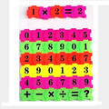 Quebra-cabeças digitais oyuncak materiais juguetes brinquedos matemática montessori brinquedos para crianças brinquedo educativo brinquedo educativo jogos