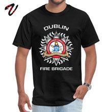 Tops Shirts T-shirts Dublin Fire Brigade Summer Fall Kurt Cobain Vietnam War Round Neck Mens Normal New Fashion