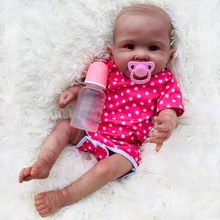 50cm 0-5 Month Silicone Body Reborn Baby Doll girls bath Toys High-end boutique bebes reborn corpo de inteiro realista kids gift pursue silicon full body soft reborn baby doll with blue eyess bebe reborn silicone realista bonecas reborn de silicone inteiro