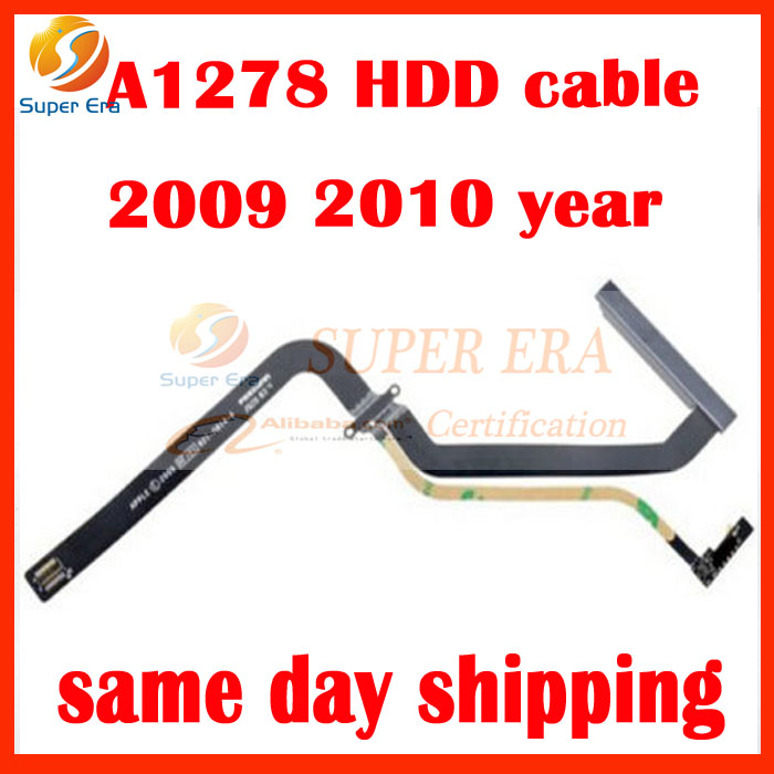 perfect new 821-0814-A A1278 HDD Hard Drive Flex Cable for Apple MacBook Pro 13 Year 2009 2010 MB990 MB991 MC374 MC375 brand new hdd hard drive disk cable with bracket for macbook pro a1278 13 3 821 2049 a