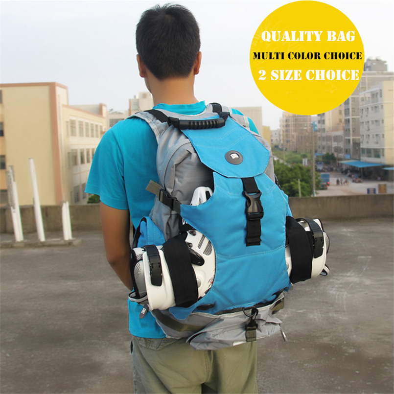 Quality outdoor roller skate shoes backpack with big size for sports camping men's backapck or women's for a variety of venues недорго, оригинальная цена