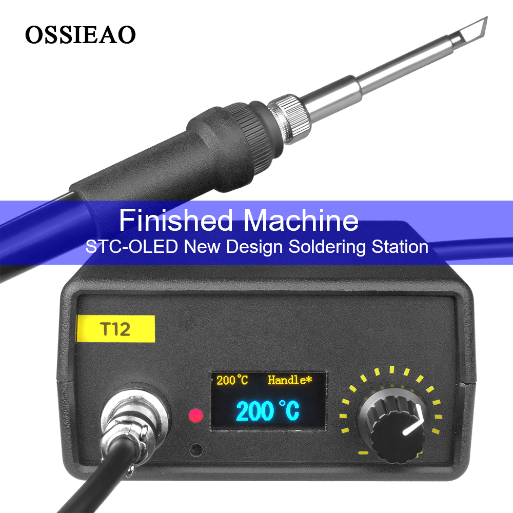 2019 OLED Electric Unit Digital welding Iron Station Temperature Controller for HAKKO T12 OLED Digital Soldering