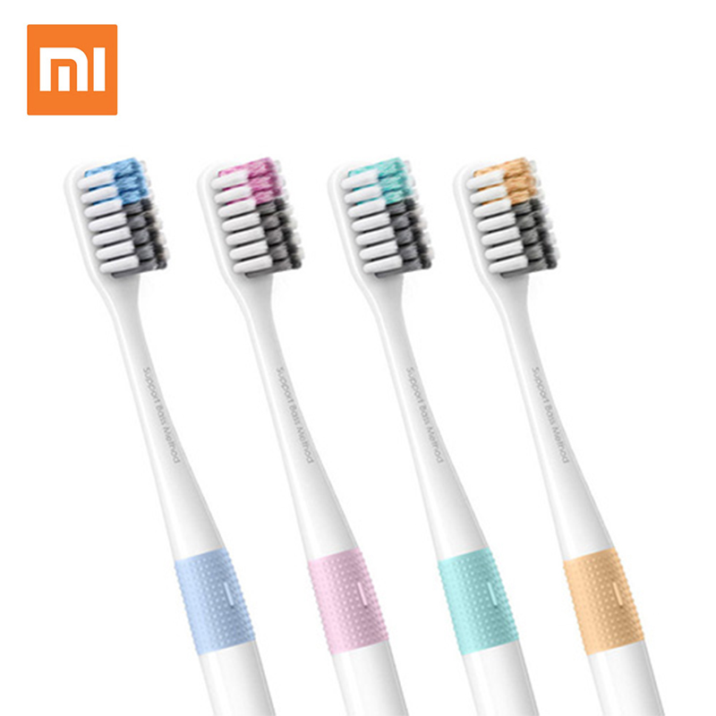 Xiaomi mijia Doctor B Tooth Bass Method Sandwish-bedded Brush Wire 4 Colors Including Travel Box For xiaomi smart home image