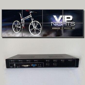 2x4 hdmi video wall controller for 2x4 diy tv video wall hdmi output vga dvi hdmi usb input