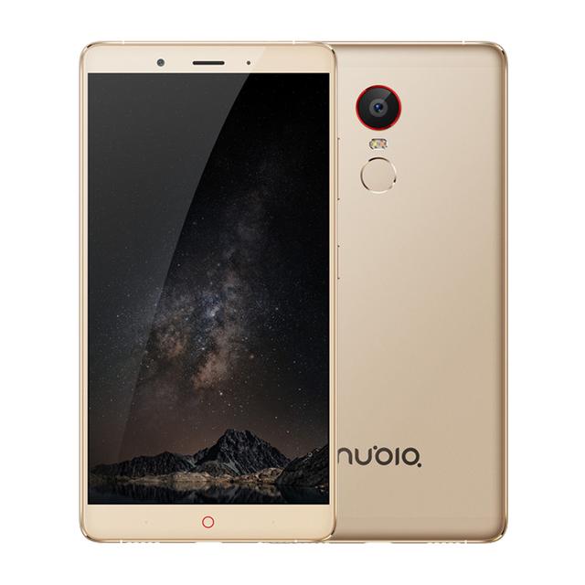 Original ZTE Nubia Z11 Max Cell Phone 3/4GB RAM 64GB ROM Octa Core 13/16MP Camera 6.0″ Screen Fingerprint 4000mAh LTE Smartphone