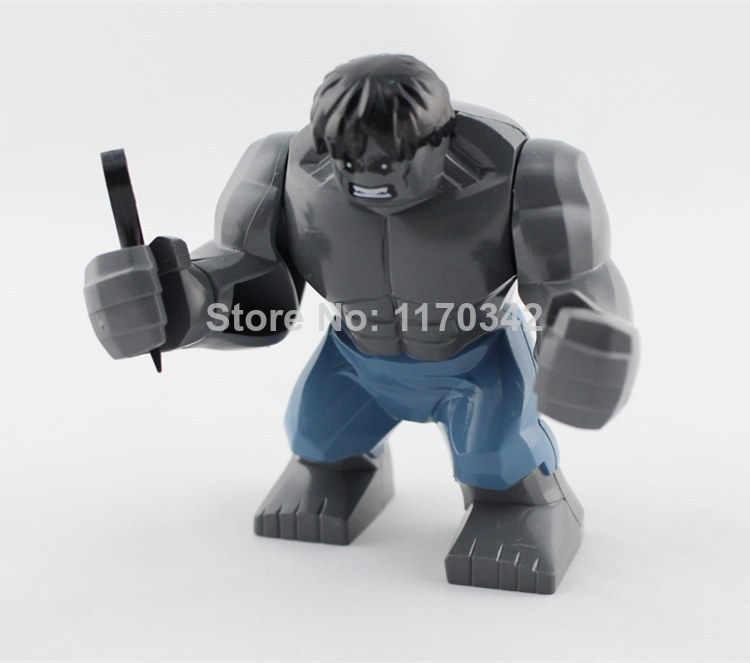 3 шт./лот Decool большие Legoingly Халк фигурки 7 см высокая Marvel Супер Герой Мстители Строительные блоки наборы Модель Кирпичи Игрушки
