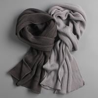 Mens designer scarf and gloves mens scarf white mens muffler scarf light grey mens scarf mens light blue scarf Men's Accessories