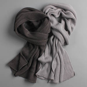 Peacesky 2018 men knit winter long cashmere women's scarves