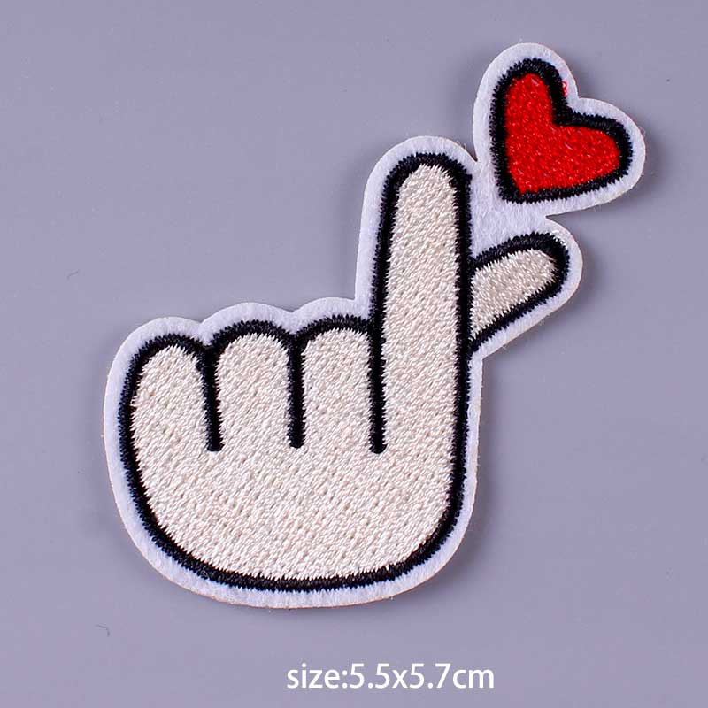 HTB1Zuiqe21H3KVjSZFHq6zKppXaf Nirvana Maple Leaf Patch Embroidery Patches For Clothing Cute Cat Unicorn Animal Iron On Patches On Clothes Watermelon Sticker