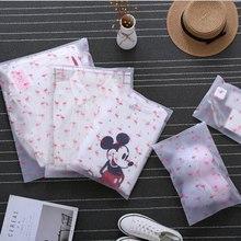 Moda transparent Flamingo kosmetyczka Travel Zipper makijaż Case Organizer przechowywanie makijaż etui kosmetyczka Beauty Wash Kit Box tanie tanio Futerały kosmetyczne Zamek 50cm W XZHJT 40cm Pole słodkie Lazy profesjonalny duży duży makijaż tworzą przezroczyste pudełko woreczki
