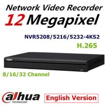 DaHua 4 К Видеонаблюдения NVR NVR5208-4KS2 NVR5216-4KS2 NVR5232-4KS2 8/16/32 Каналов H.265