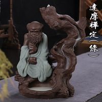 Dropshipping Großhandel liefern zurück Damour incensory weihrauch sand kreative keramik geschenke antike tempel aktivitäten