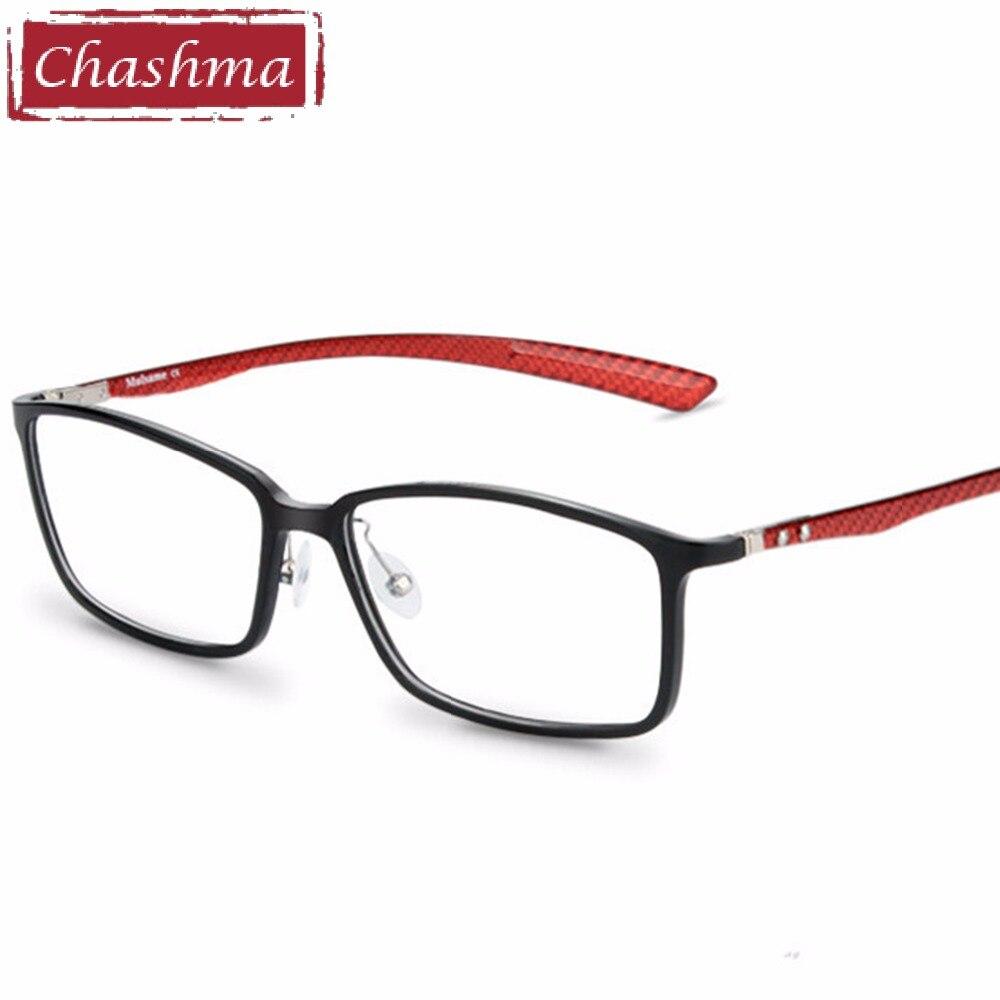 Chashma Brand Carbon Fiber Male Frame armacao oculos de grau Eye Glasses Quality Frames Female Eyeglasses Frame for Myopia Glass