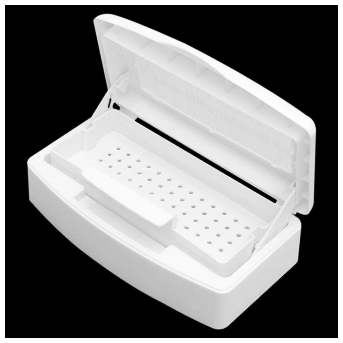 Nuovo Sterilizzatore Vassoio di Sterilizzazione Clean Box Unghie artistiche Salone di Manicure Implementare Strumento
