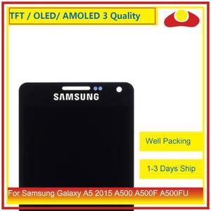 Image 2 - 10 Pcs/lo Für Samsung Galaxy A5 2015 A500 A500F A500FU A500H A500 LCD Display Mit Touch Screen Digitizer panel Pantalla Komplette