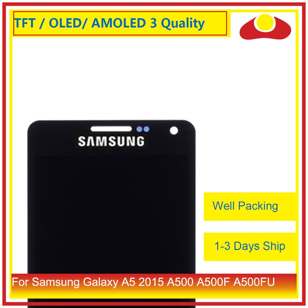 Image 2 - 10Pcs/lo For Samsung Galaxy A5 2015 A500 A500F A500FU A500H A500 LCD Display With Touch Screen Digitizer Panel Pantalla Complete-in Mobile Phone LCD Screens from Cellphones & Telecommunications