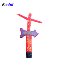 AD286 inflatable air man with arrow,inflatable tube man with arrow,Solid Color Inflatable Tube Man with arrow