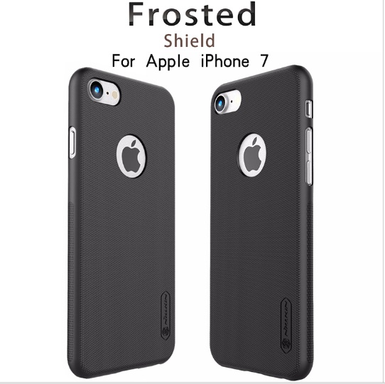 Case For Apple iPhone 7 Nillkin Super Frosted Shield Case For iPhone7 4.7inch Plastic Hard Back Cover Case with screen protector