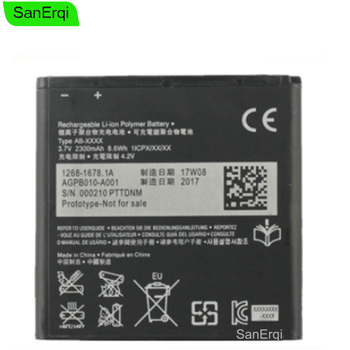 Battery For SONY Xperia M36h C5502 C5503 AB-0300 ZR SO-04E BA950 2300mAh Mobile Phone Replacement